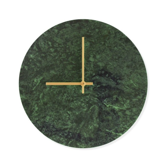 Grønt marmor ur