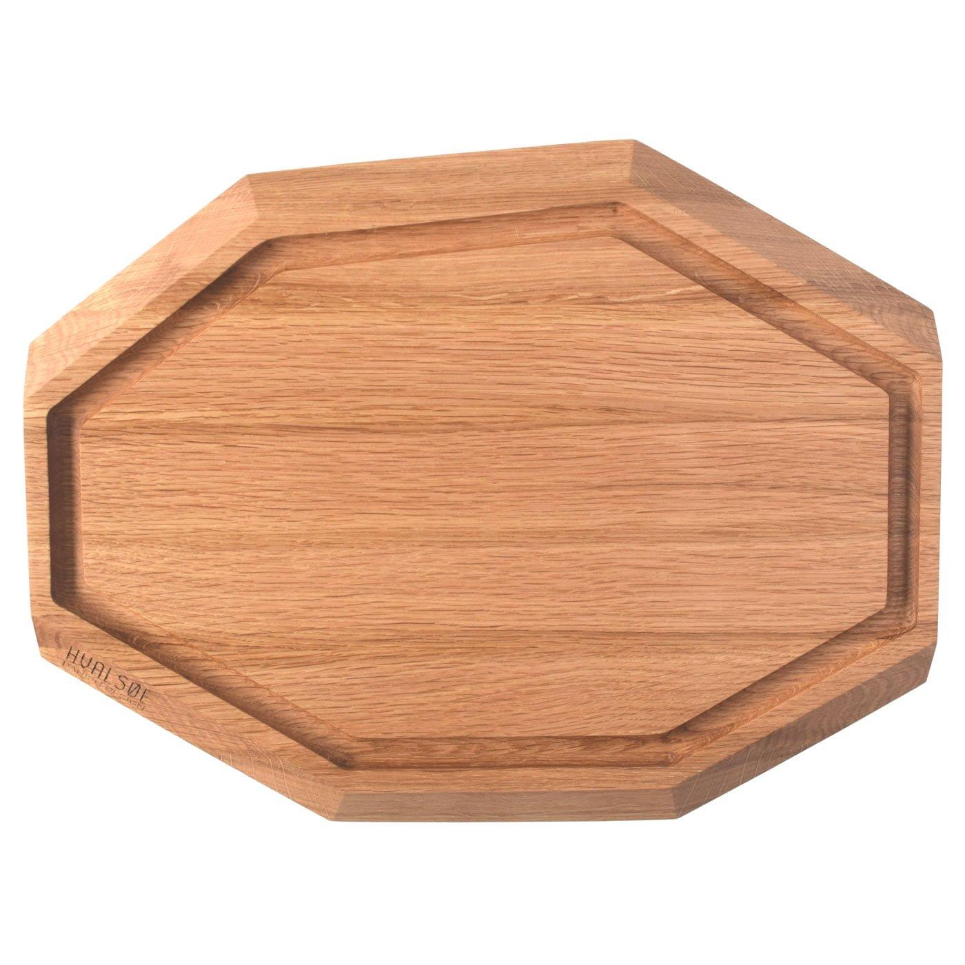 Image of   Skærebræt i træ - Egetræ