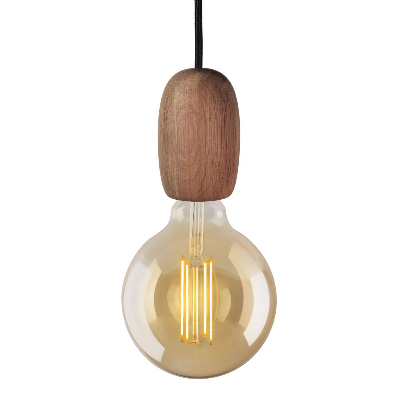 Image of   Lampefatning i træ - Mørk eg