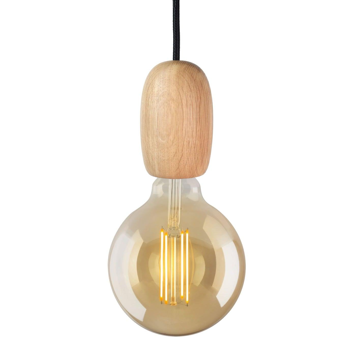 Image of   Lampefatning i træ - Egetræ