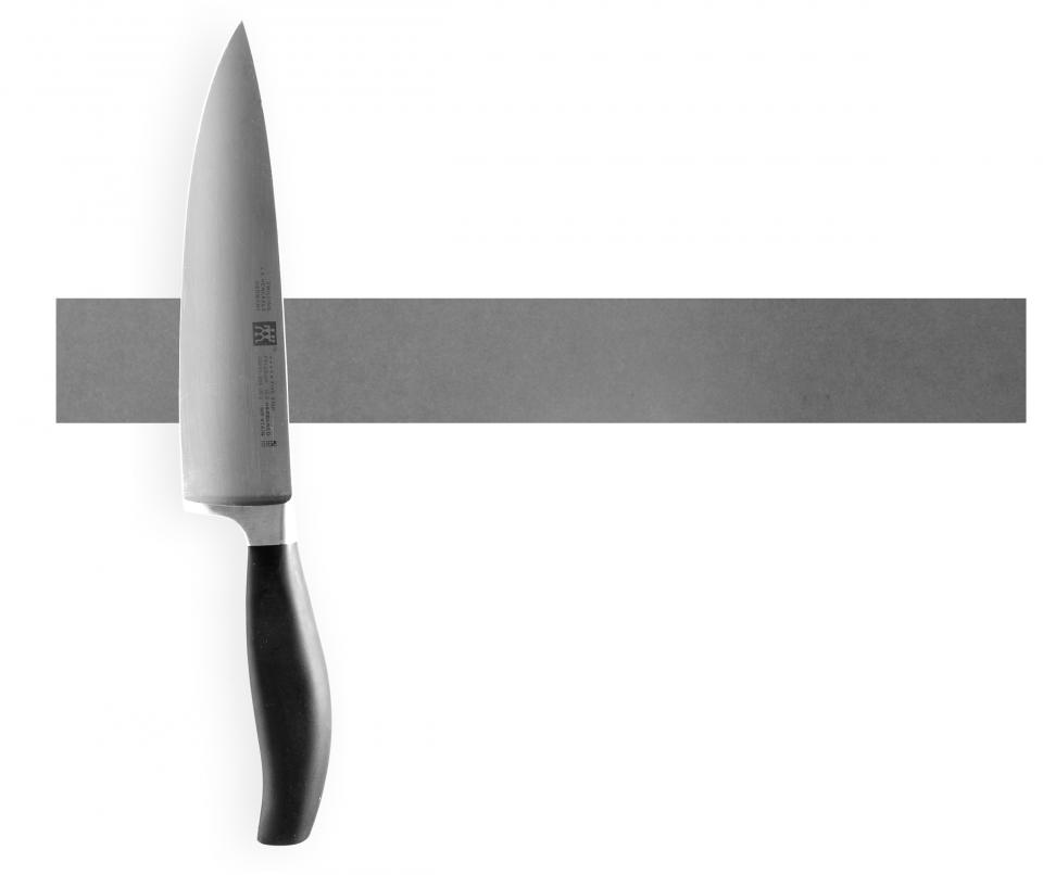 Grå knivmagnet beton look