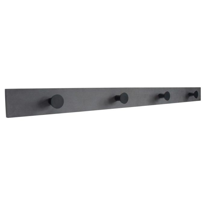 Knagerække sort ecoboard sorte knager