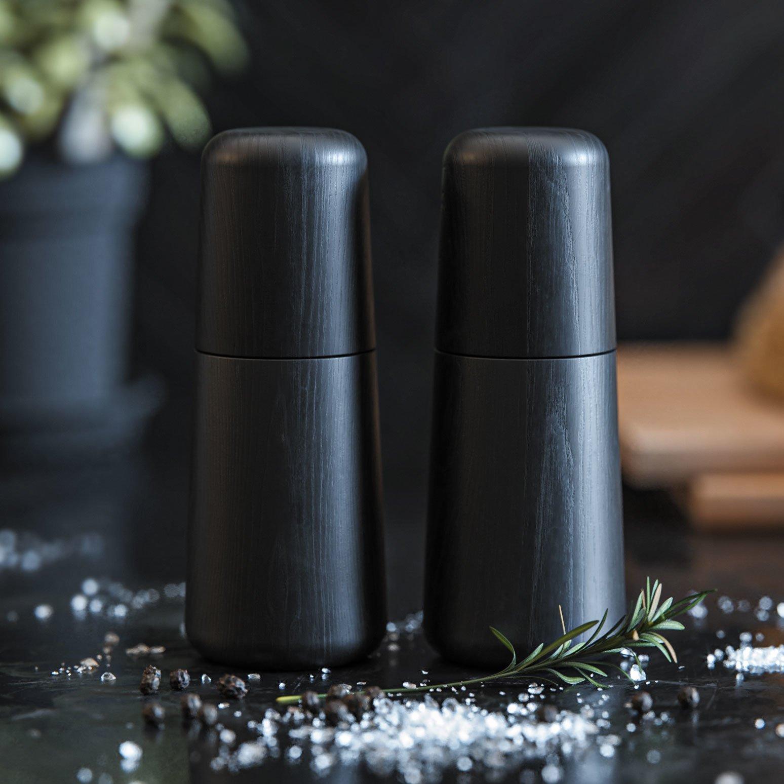Salt og peber sæt – Sort eg